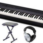 Casio este un pian digital foarte ușor și compact