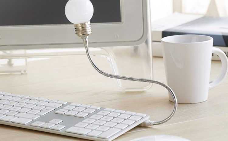 Produsele promoționale - Lumina USB